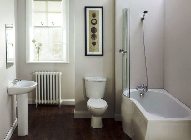 Inexpensive bathroom designs - The Inexpensive Bathroom Remodel With Wc And Without