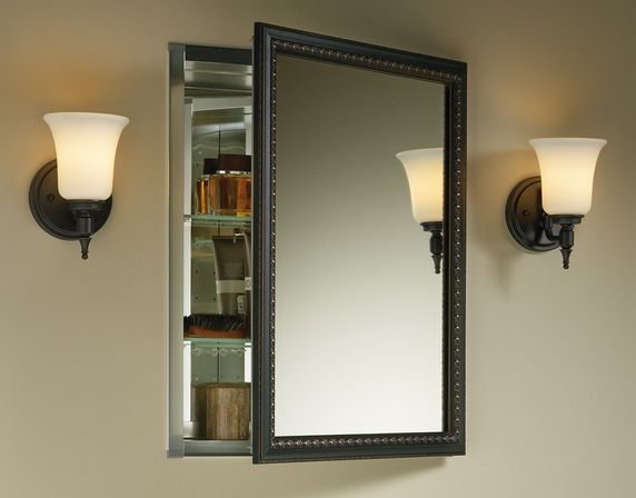 Bathroom medicine cabinets with mirrors: useful furniture ...