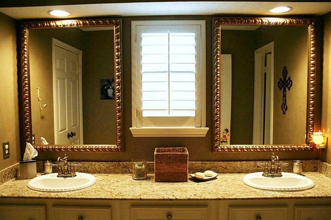 brushed nickel bathroom mirror. Brushed nickel bathroom mirror  what customers should know Bathroom designs ideas