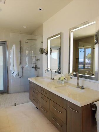 Custom bathroom mirrors main rules and benefits for Main bathroom design ideas