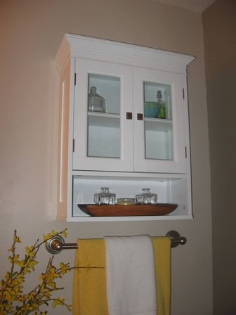 Bathroom cabinet over toilet top tips bathroom designs for Bathroom cabinet ideas photos