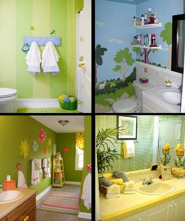7 ways to use kids bathroom decor bathroom designs ideas - Kids bathroom design ...