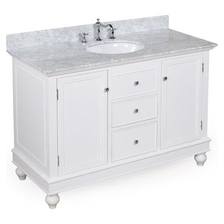 36 white bathroom vanity bathroom designs ideas for Bathroom vanity tops