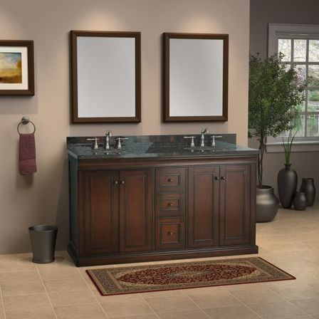 Double sink bathroom vanity top tips and photo bathroom for Bathroom ideas double sink