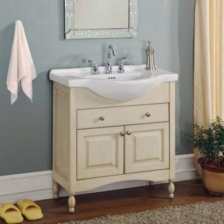 Narrow bathroom vanities 14 photo bathroom designs ideas - Narrow bathroom sinks and vanities ...