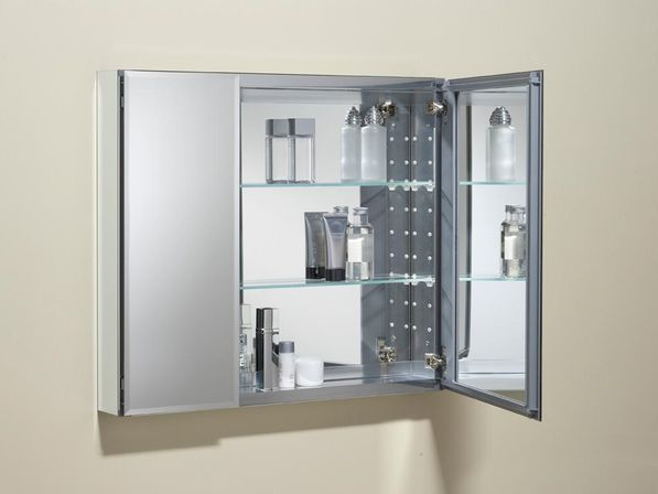 Hinged bathroom mirrors - Last Option Is Furniture For The Bathroom Is A Very Delicate Product Because Any Awkward Movement Could Damage Or Break Mirrored Doors