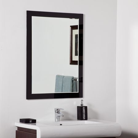 Contemporary bathroom mirrors for stylish interiors for Bathroom vanity mirrors