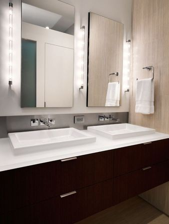 Used Bathroom Vanity Lights 7 tips for designing the lighting in the bathroom | bathroom