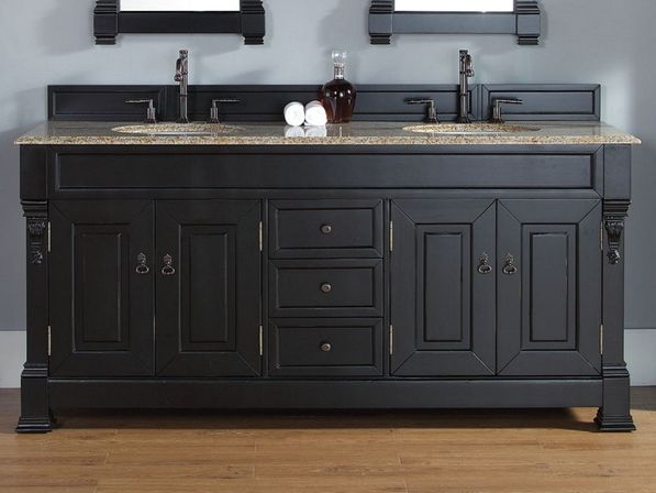 The Black Bathroom Vanities 16 Photo Designs Ideas