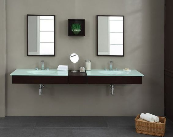 Floating bathroom vanity 16 photo bathroom designs ideas - Guide on bathroom vanities designs ...