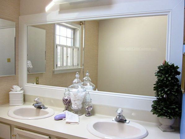 framed bathroom mirrors best way to give unique character to any bathroom