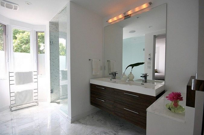 Original Floating Mirrorbathroom  Antigua  Pinterest