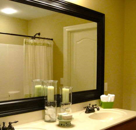 Bathroom Mirror Borders. Zamp.co