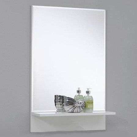 white bathroom mirror with shelf. configuration and design of bathroom mirrors with shelf: choosing optimal ones white mirror shelf