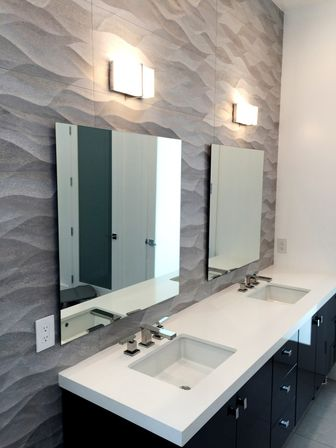 Frameless mirrors for bathroom - 10 Reasons To Choose White Bathroom Mirror