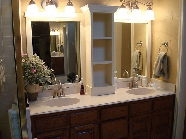 Large bathroom mirror 3 design ideas bathroom designs ideas for Bathroom mirror ideas