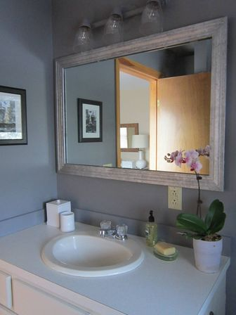 ikea 2inone solution bathroom mirror cabinet