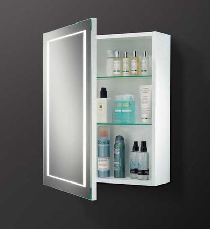 Bathroom mirrored cabinet easily fits in any style. - Bathroom Mirror Cabinet Bathroom Designs Ideas