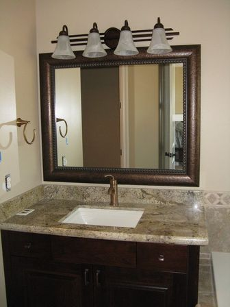 Ideas For Bathroom Mirror Frames : Framed bathroom mirrors best way to give unique character