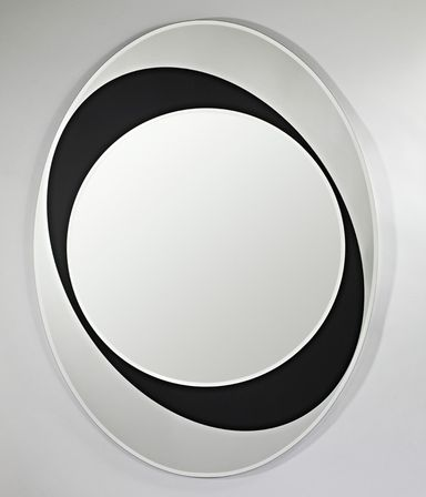 Black Contemporary Mirrors 92