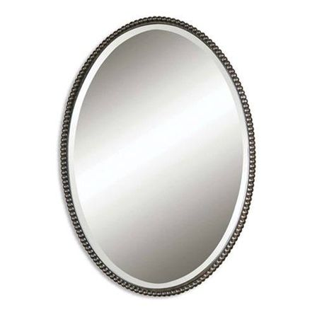 Oval mirrors: eternal classic shape for all interiors | Bathroom ...