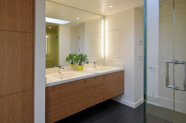 Bathroom Vanity Mirror Lighting Ideas : Six lighting concepts for bathroom mirrors: pros and cons Bathroom designs ideas