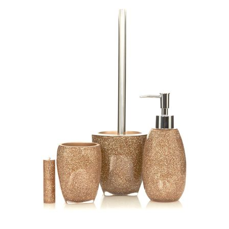 Glitter bathroom sets that only the pros know about for Bathroom accessories uk