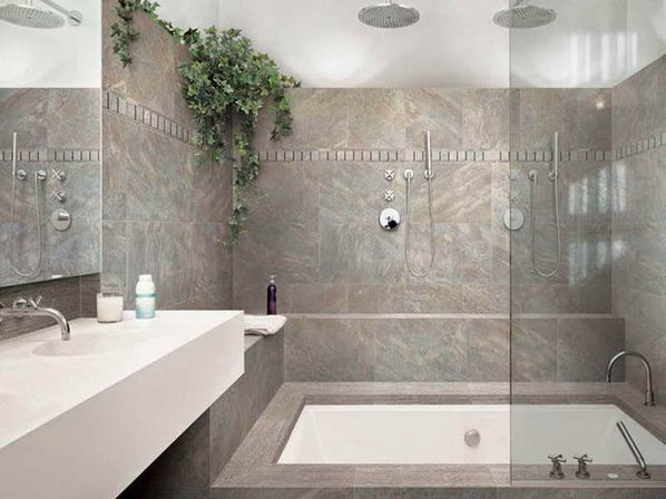 Bathroom Tiles Ideas For Small Bathrooms With Grey Ceramic Wall M Gray Parquet Tiles
