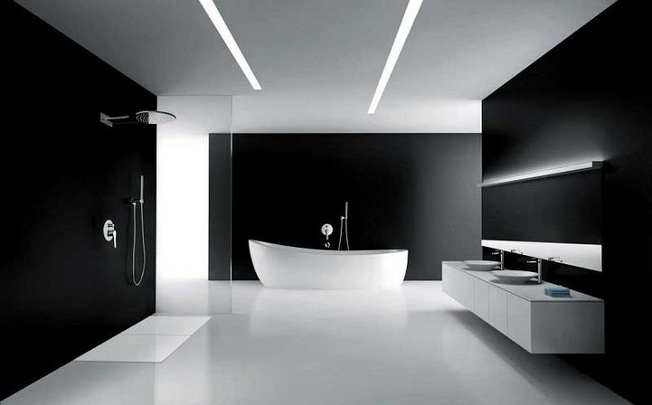 Organizing A Small Bathroom Doesnu0027t Need, To Be A Vast Job, But  Nevertheless, It Wouldnu0027t Hurt To Sort First. Black Bathrooms Are Featured  In Plenty Of ...