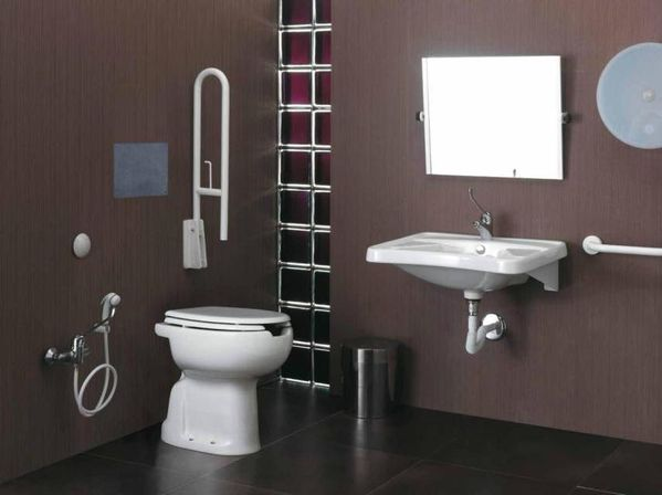 Contemporary bathroom accessories sets unanswered for Toilet accessories