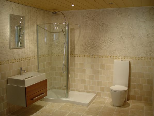 Elegant bathroom sets what absolutely everybody is saying customized tiles provide another excellent option that you could consider cleaning stone tiles is a simple job you can choose stone tiles from an dailygadgetfo Images