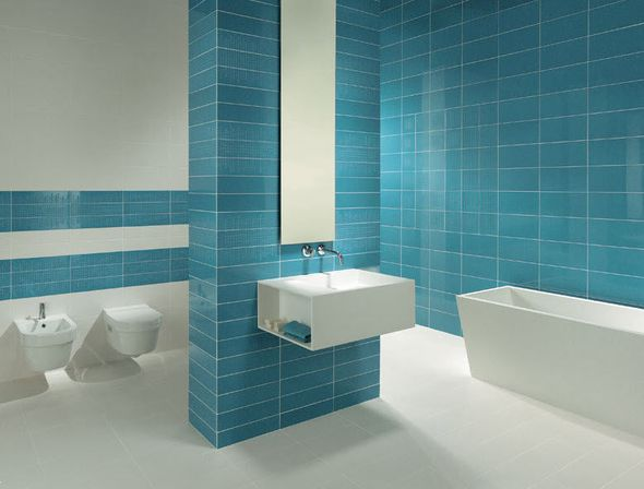 Colorful bathroom sets the ultimate solution bathroom for Ceramic bathroom tile designs