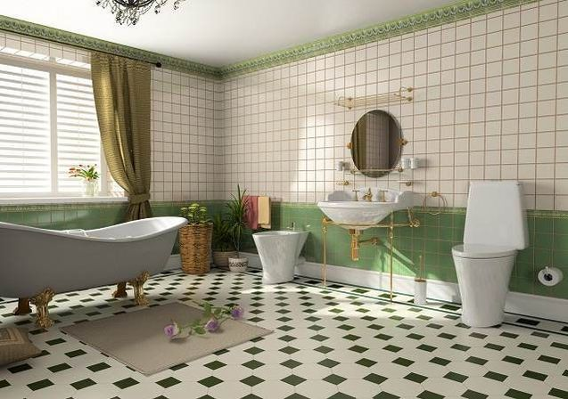Purple and green bathroom decor delonho. Green Grey Bathroom  Modern bathroom design of green grey ign