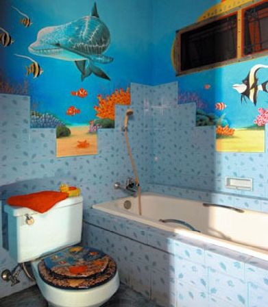 Contemporary bathroom accessories sets unanswered for Bathroom ideas for kids