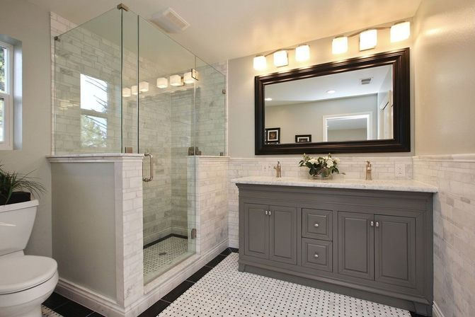 Entire bathroom sets the supreme approach bathroom for Master bathroom set
