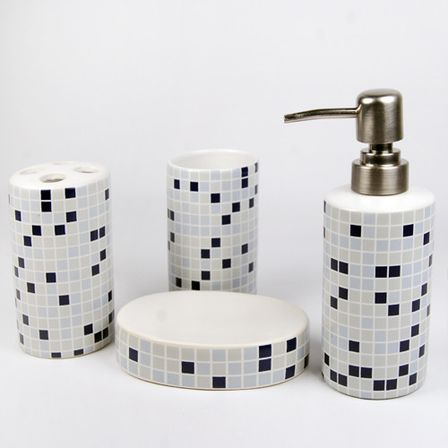Modern bathroom accessory sets want to know more for Bathroom and accessories