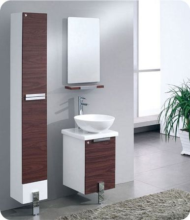Narrow Bathroom Vanities, 14 Photo