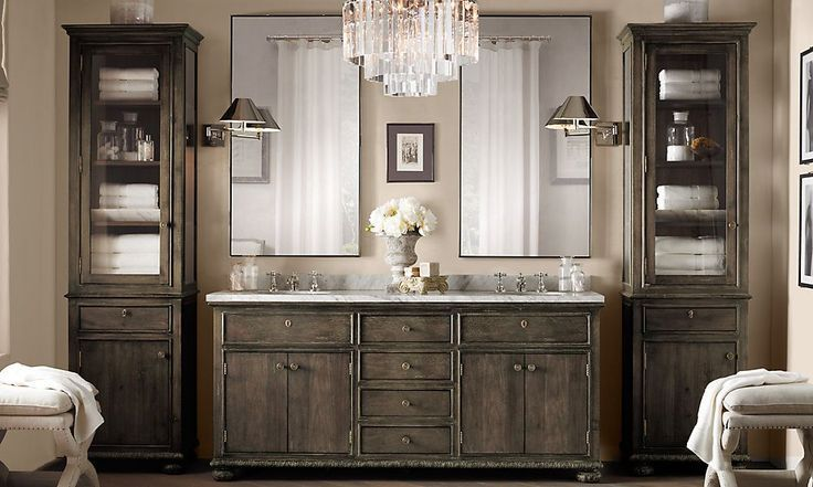 Restoration hardware bathroom vanity bathroom designs ideas - Restoration hardware cabinets ...