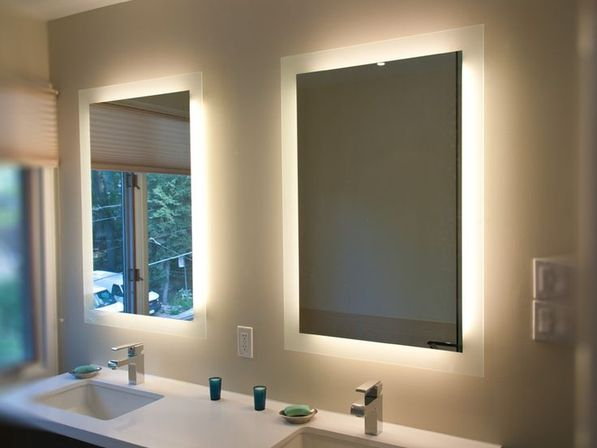 Backlit Bathroom Mirror: From Designeru0027s Tips To Own Project