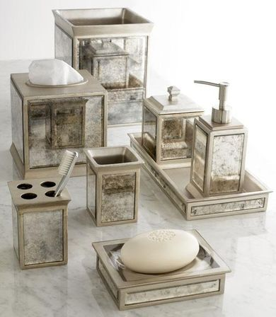 Mirrored Bathroom Accessories How To Mix Practicality And Beauty