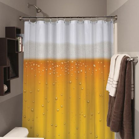 Beer Bathroom Décor And The Spirit Of A Wild Nature.
