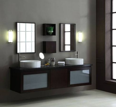 suspended bathroom cabinets floating bathroom vanity 16 photo bathroom designs ideas 14599