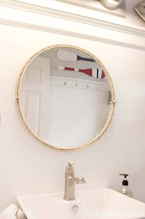 nautical mirror bathroom nautical bathroom mirror special aspects of the sea style 13797
