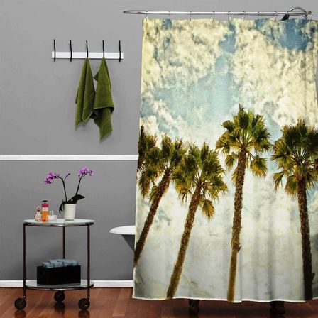 Palm Tree Bathroom Decor: For Those Who Prefer Never Come Back To Work