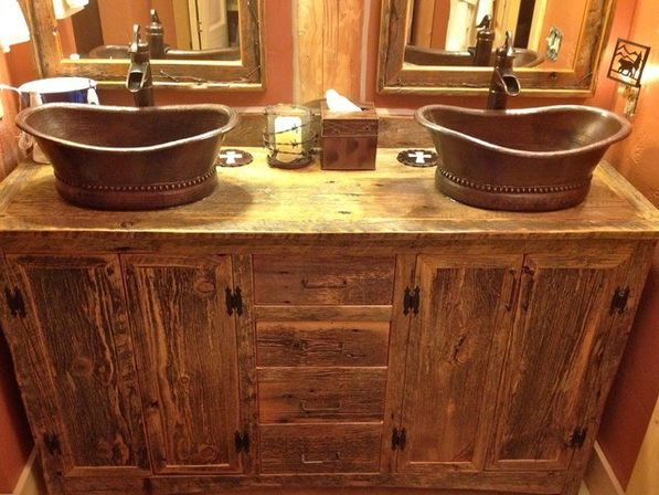 rustic bathroom furniture rustic bathroom vanities bathroom designs ideas 14281