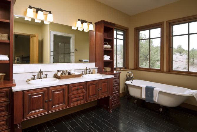 bathroom cabinets built in sink bathroom vanity top tips and photo bathroom 15623