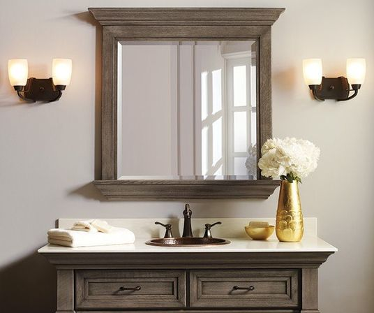 Attrayant Rustic Bathroom Mirrors