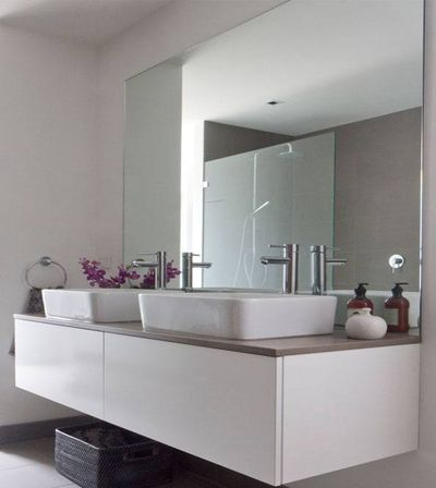 bathroom frameless mirrors frameless bathroom mirror 8 reasons why you won t 10746