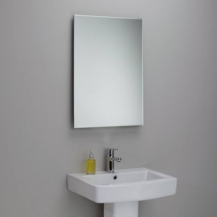 white bathroom mirrors for any interior discover white. Black Bedroom Furniture Sets. Home Design Ideas
